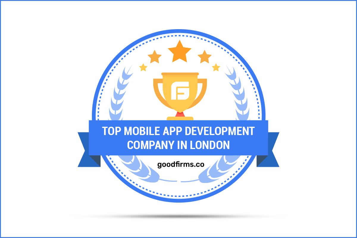27120a8261539b Systango Recognised as One of the Top Mobile App Development Companies in  London by GoodFirms