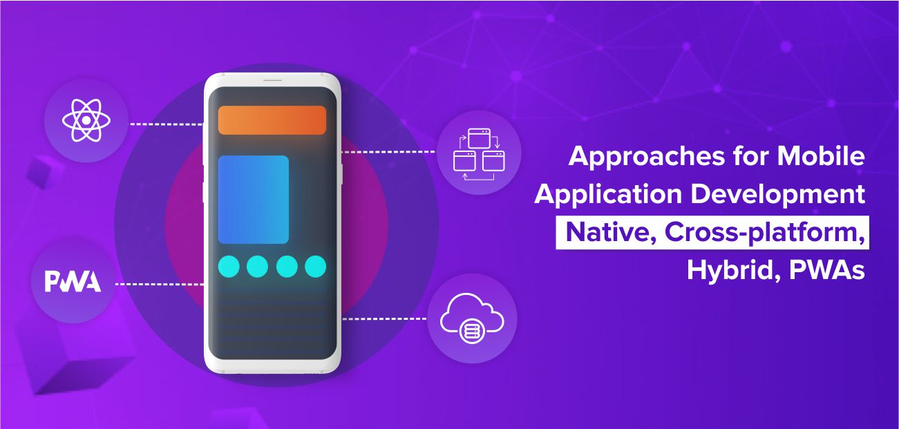Approaches for Mobile Application Development – Native, Cross-platform, Hybrid, PWAs
